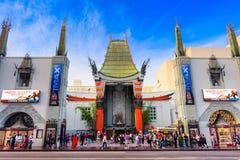 Κινεζικό θέατρο Grauman στοκ φωτογραφία με δικαίωμα ελεύθερης χρήσης
