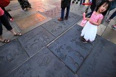 Κινεζικό θέατρο Grauman, Hollywood, Λος Άντζελες, ΗΠΑ Στοκ φωτογραφίες με δικαίωμα ελεύθερης χρήσης