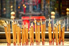 κινεζικό θυμίαμα Στοκ φωτογραφία με δικαίωμα ελεύθερης χρήσης
