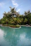 Κινεζικό διάσημο φυσικό σημείο Chongqing East Hot Springs Spa τουριστών ουράνια Στοκ Εικόνα