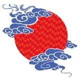 κινεζικό ιστορικό πρότυπο Στοκ εικόνα με δικαίωμα ελεύθερης χρήσης