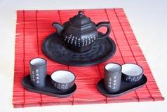 κινεζικό καθορισμένο τσά&io Στοκ εικόνες με δικαίωμα ελεύθερης χρήσης