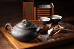 κινεζικό καθορισμένο τσά&io Στοκ φωτογραφία με δικαίωμα ελεύθερης χρήσης