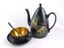 κινεζικό καθορισμένο τσά&io Στοκ Φωτογραφίες