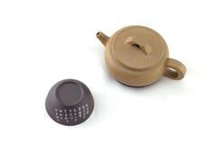 κινεζικό καθορισμένο τσά&io Στοκ Φωτογραφία
