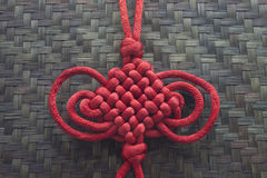 κινεζικό καλό σύμβολο τύχ&et Στοκ εικόνα με δικαίωμα ελεύθερης χρήσης