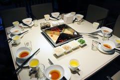 κινεζικό καυτό δοχείο Στοκ φωτογραφίες με δικαίωμα ελεύθερης χρήσης