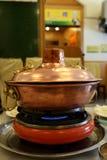 κινεζικό καυτό δοχείο Στοκ Φωτογραφία