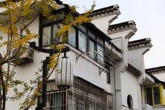 Κινεζικό κοινό σπίτι στο Ναντζίνγκ στοκ φωτογραφίες