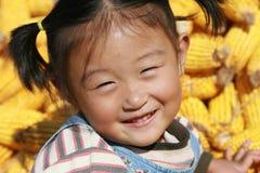 κινεζικό κορίτσι ευτυχέ&sig Στοκ Φωτογραφίες