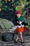 κινεζικό κορίτσι σύγχρον&omi Στοκ φωτογραφία με δικαίωμα ελεύθερης χρήσης