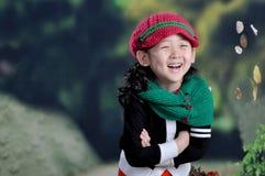 κινεζικό κορίτσι σύγχρον&omi Στοκ Εικόνα
