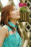 κινεζικό κορίτσι Στοκ εικόνα με δικαίωμα ελεύθερης χρήσης
