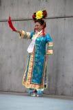 κινεζικό κοστούμι concubine στοκ φωτογραφία με δικαίωμα ελεύθερης χρήσης