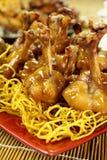 Κινεζικό κοτόπουλο Drumettes Στοκ εικόνα με δικαίωμα ελεύθερης χρήσης