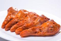 Κινεζικό κρέας - μαγειρευμένο κεφάλι παπιών Στοκ εικόνα με δικαίωμα ελεύθερης χρήσης