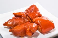 Κινεζικό κρέας - τυχερά αργά πόδια χοίρων σε καφετιά σάλτσα-2 Στοκ φωτογραφίες με δικαίωμα ελεύθερης χρήσης
