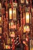 κινεζικό κρεμώντας φανάρι Στοκ εικόνες με δικαίωμα ελεύθερης χρήσης