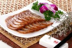 κινεζικό κρύο εύγευστο λουκάνικο τροφίμων πιάτων Στοκ Φωτογραφίες