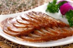 κινεζικό κρύο εύγευστο λουκάνικο τροφίμων πιάτων Στοκ Εικόνες
