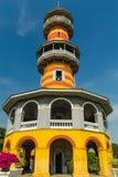 Κινεζικό κτήριο ύφους σε Bangpain Royal Palace, Ayutthaya μέσα Στοκ Εικόνες