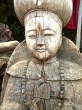 Κινεζικό κλασσικό γλυπτό, ξύλινη γλυπτική Στοκ φωτογραφίες με δικαίωμα ελεύθερης χρήσης