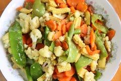 κινεζικό λαχανικό πιάτων Στοκ εικόνες με δικαίωμα ελεύθερης χρήσης