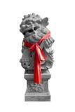 κινεζικό λιοντάρι φυλάκω& στοκ φωτογραφία
