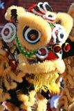 κινεζικό λιοντάρι χορού Στοκ Εικόνες