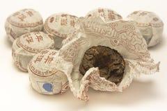 Κινεζικό μαύρο τσάι Στοκ Εικόνες