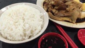 Κινεζικό μεσημεριανό γεύμα στην αρχαία πόλη Fenghuang Hunan, Κίνα φιλμ μικρού μήκους