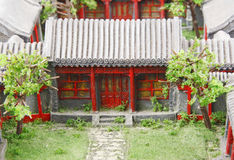 κινεζικό μοντέλο προαυλ Στοκ Εικόνες