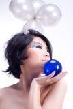 κινεζικό μοντέλο Στοκ εικόνες με δικαίωμα ελεύθερης χρήσης