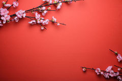 κινεζικό νέο έτος ανασκόπη&s Στοκ εικόνα με δικαίωμα ελεύθερης χρήσης