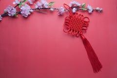 κινεζικό νέο έτος διακοσμήσεων Στοκ φωτογραφίες με δικαίωμα ελεύθερης χρήσης