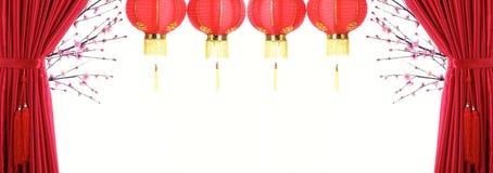 κινεζικό νέο έτος διακοσ& Στοκ φωτογραφία με δικαίωμα ελεύθερης χρήσης