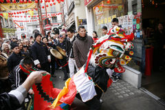 κινεζικό νέο έτος εορτασμού του 2012 Στοκ Φωτογραφίες