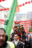 κινεζικό νέο έτος εορτασμού του 2012 Στοκ φωτογραφία με δικαίωμα ελεύθερης χρήσης