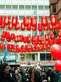 κινεζικό νέο έτος εορτασ&m Στοκ Φωτογραφία