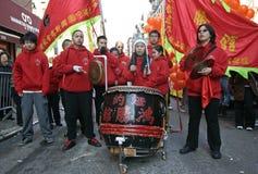 κινεζικό νέο έτος εορτασ&m Στοκ Εικόνες