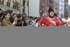 κινεζικό νέο έτος εορτασ&m Στοκ Εικόνα