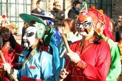 κινεζικό νέο έτος ημέρας Στοκ Εικόνα