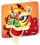 κινεζικό νέο έτος λιονταρ Απεικόνιση αποθεμάτων
