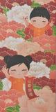 κινεζικό νέο έτος προτύπων Στοκ Εικόνα