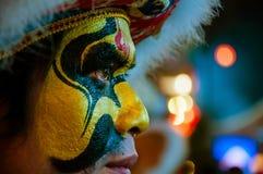Κινεζικό νέο έτος 2014 δραστών Στοκ Φωτογραφία