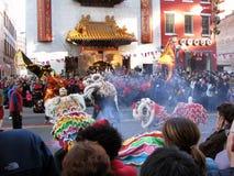 κινεζικό νέο έτος του 2012 Στοκ Εικόνες