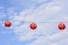 κινεζικό νέο έτος φαναριών Στοκ Εικόνα