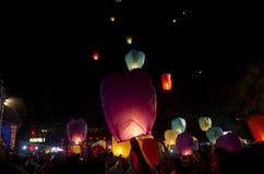 κινεζικό νέο έτος φαναριών Στοκ Εικόνες