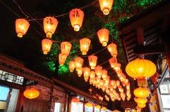 κινεζικό νέο έτος φαναριών &phi Στοκ εικόνες με δικαίωμα ελεύθερης χρήσης