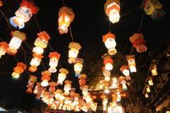 κινεζικό νέο έτος φαναριών &phi Στοκ φωτογραφία με δικαίωμα ελεύθερης χρήσης